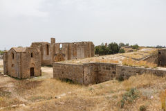 Ruins of Carmelite and Armenian Churches in Medieval Famagusta, Cyprus Stock Photos
