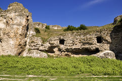 Ruins of Carsium Royalty Free Stock Images