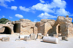 Ruins in Cartage Royalty Free Stock Photo