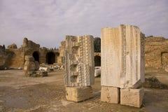 Ruins in Cartagena, Tunisia Royalty Free Stock Photos