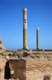 The ruins of Carthage Stock Images