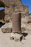 Ruins of Carthage. Ancient Roman Bath Stock Photos