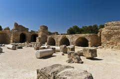 Ruins of Carthage. Ancient Roman bath Royalty Free Stock Image