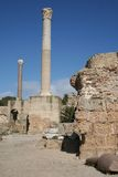 Ruins of Carthage Stock Images