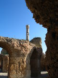 Ruins in Carthage Stock Photos