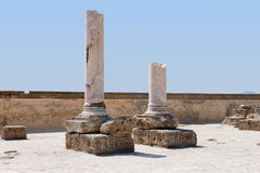 Ruins of the Carthage Royalty Free Stock Image