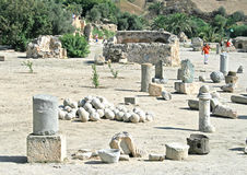 Ruins in Carthage Royalty Free Stock Photography