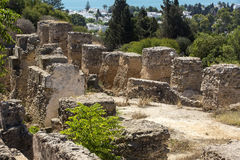 Ruins of Carthage Stock Photography