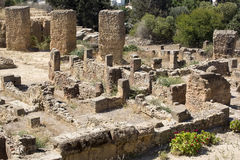 Ruins of Carthage Royalty Free Stock Images