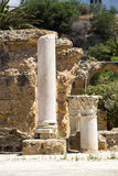 Ruins of Carthage Stock Photos