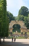 Ruins of Carthage. Schonbrunn. Vienna, Austria Stock Photo