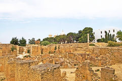 Ruins of Carthage, Tunisia Royalty Free Stock Image