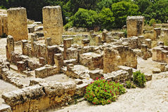 The Ruins Of Carthage, Tunisia Royalty Free Stock Photography