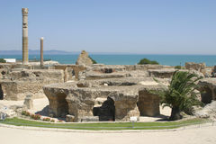 Ruins of Carthage, Tunisia, Northern Africa Royalty Free Stock Image