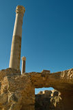 Ruins of the Carthage, Tunisia Royalty Free Stock Images