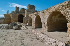 Ruins of the Carthage, Tunisia Royalty Free Stock Image