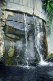 Ruins cascade Royalty Free Stock Image
