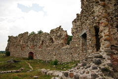 Ruins of a castle Stock Images