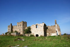 Ruins of a castle Royalty Free Stock Photo