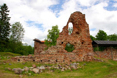 Ruins of a castle Royalty Free Stock Images