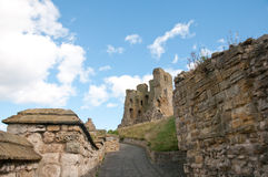 Ruins of the castle Royalty Free Stock Photography