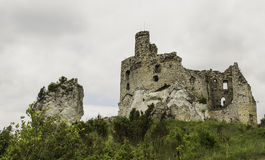 Ruins of the castle Stock Images
