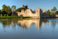 Ruins of castle in Adare Royalty Free Stock Photography