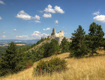 Ruins of Castle Stock Photography