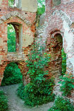 The ruins of the castle Balga Royalty Free Stock Photos
