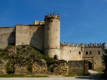 The ruins of the castle Boskovice. Royalty Free Stock Photography