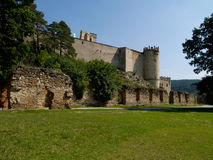 The ruins of the castle Boskovice. Stock Photography