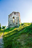 Ruins of castle in Buchach Stock Photography