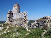 Ruins of The Castle of Cachtice, Slovakia Royalty Free Stock Images