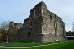 Ruins of castle in Canterbury Royalty Free Stock Photography
