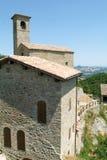 Ruins of castle Carpineti on Emilia Romagna Royalty Free Stock Photos