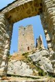 Ruins of castle Carpineti on Emilia Romagna Royalty Free Stock Photography