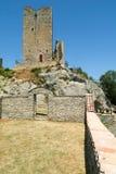 Ruins of castle Carpineti on Emilia Romagna Stock Photo