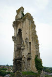 Ruins of a castle, Chauvigny, France Royalty Free Stock Images