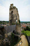 Ruins of a castle, Chauvigny, France Stock Photography