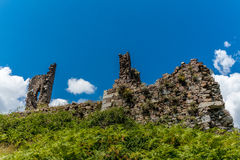 Ruins of a castle in Corsica  along the GR20 route - 2 Stock Photos