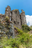 Ruins of a castle in Corsica  along the GR20 route - 1 Stock Photography