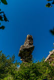 Ruins of a castle in Corsica  along the GR20 route - 5 Stock Photo