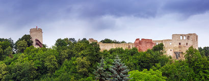 Ruins of the castle in Kazimierz Dolny Stock Photography
