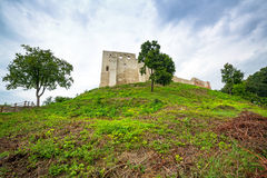 Ruins of the castle in Kazimierz Dolny Royalty Free Stock Images