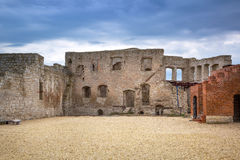 Ruins of the castle in Kazimierz Dolny. At Vistula river, Poland Royalty Free Stock Photography