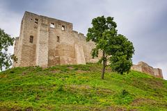 Ruins of the castle in Kazimierz Dolny Royalty Free Stock Photo
