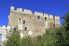 Ruins of castle Kirchschlag. In Lower Austria Stock Photo