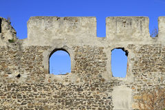 Ruins of castle Kirchschlag. In Lower Austria Stock Images