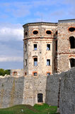 Ruins of Castle Krzyztopor, Poland. Old, ruined castle Krzyztopor  in Ujazd, Poland, built in 17th century Royalty Free Stock Images
