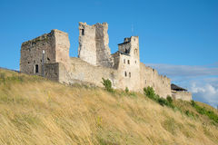 The ruins of the castle of the Livonian order august afternoon in Rakvere Royalty Free Stock Image